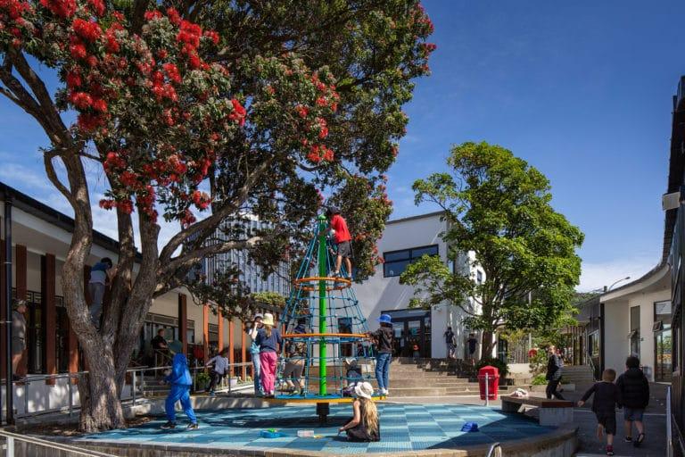 Thorndon School central courtyard
