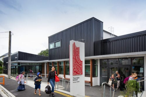 Thorndon School entrance