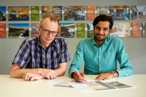 Chris Evans & Diapk Patel promoted within Mckenzie Higham Architects