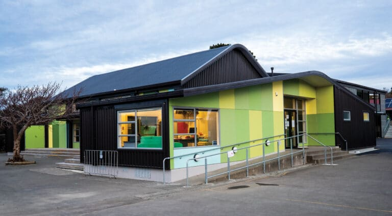 Churton-Park-School Reclad Hall