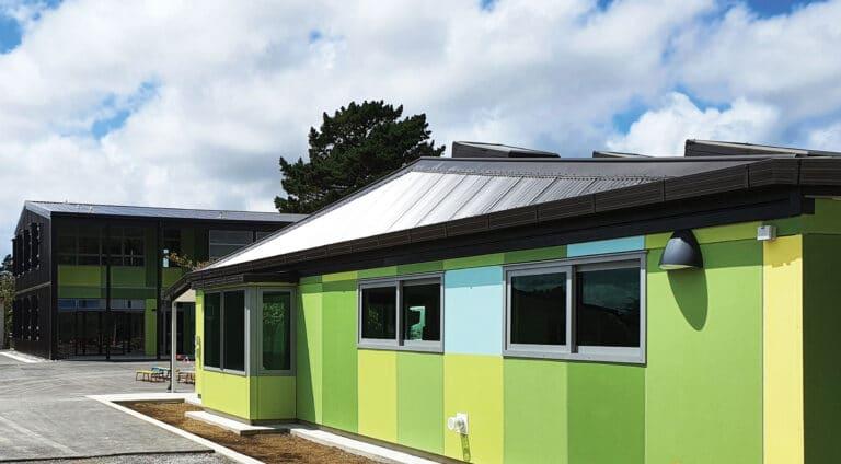 Churton-Park-School Refurbished block including library