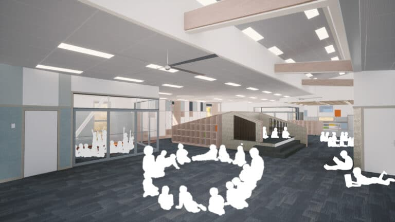 McKenzie Higham Architects_ Amesbury School Stage Two_Learning Studio