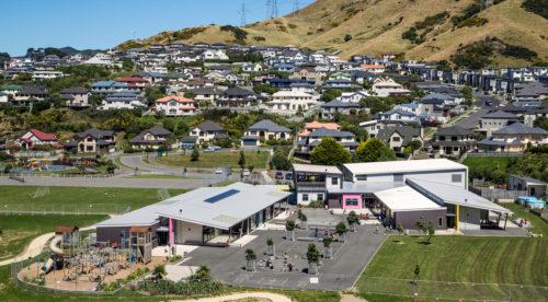 Amesbury School Aerial View