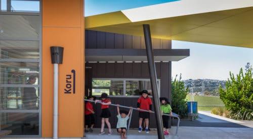 Amesbury School Entrance
