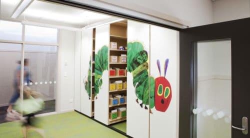 Amesbury School Storage Space