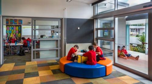 Fergusson Intermediate Student School Breakout Space
