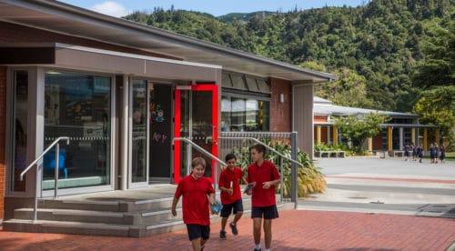 Fergusson Intermediate School Open Spaces