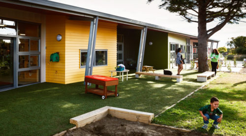 He Whare Manaaki Tangata (Teen Parent Education) Outdoor Space