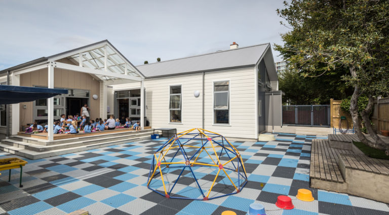 Queen Margaret College Preschool outdoor space