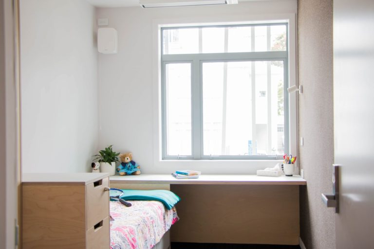 Queen Margaret House Student Bedroom