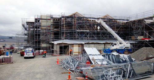 BUPA Apartment Complex Underway