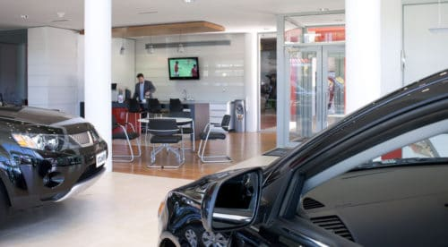 Mitsubishi Motors Customer Cafe