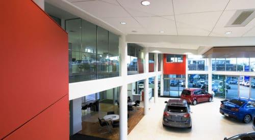 Mitsubishi Motors Showroom Floor