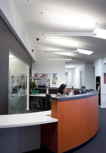 Newlands Medical Centre Reception Desk
