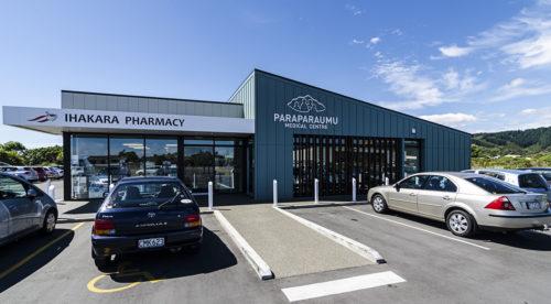Paraparaumu Medical Centre Entrance