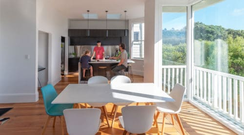 Aro Valley Villa Open Plan Living