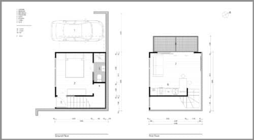 Caroline St Small House Floor Plans